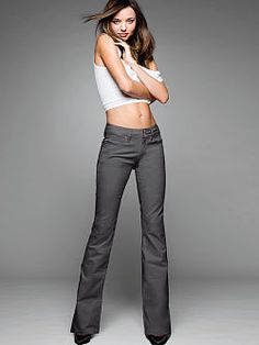 Pretty sure the khakis I have were this cut, and fit nicely when they were the right size. VS Bootcut Twill