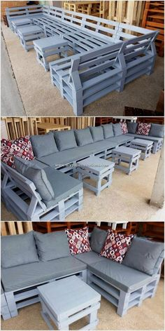 When it has to do with building your furniture, the idea can appear intimidating and complicated, to start with. Wood pallet furniture has come to be . furniture outdoor 50 Creative DIY Pallet Furniture Idea You Can Make by Self Pallet Furniture Blueprints, Pallet Furniture Sofa, Diy Pallet Couch, Diy Outdoor Furniture, Furniture Projects, Diy Furniture, How To Build Pallet Furniture, Pallet Couch Outdoor, Palette Furniture