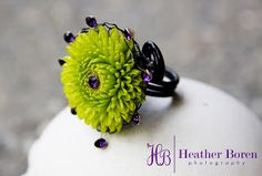 Paisley Petals   Fresh Flower Rings!; my friend Paula makes these. All you dads, get one for your daughters.