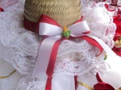 Como decorar chapéu de palha para Festa Junina 005