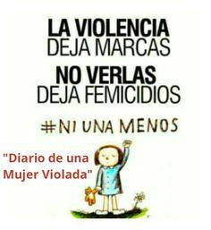 Ni una menos DiarioDeUnaMujerViolada. Liniers
