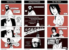 Naruto: Homecoming - Sasuke decides to head back home.