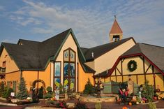 The Christmas Place in Pigeon Forge. If you love everything Christmas, you'll enjoy visiting this shop!