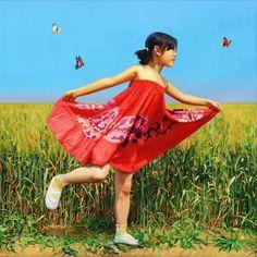Paintings by Bai Chunyu  <3 <3