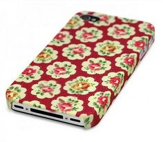Plastic Cover Case With Flower Case for iPhone 4S 4