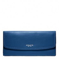 LEGACY LEATHER SOFT WALLET-It's my fav color y'all.  It will make a great birthday gift. :-)