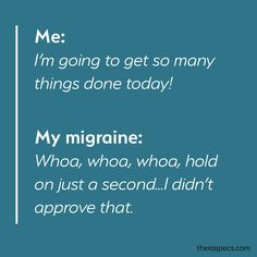 The Top 10 Migraine Memes of All Time - TheraSpecs Migraine Meme, Headache Humor, Headache Quotes, Migraine Quotes, Migraine Relief, Chronic Migraines, Fibromyalgia, Chronic Illness, Chronic Pain