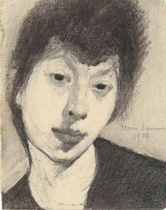 Marie Laurencin (French,1883 - 1956) Self-Portrait, 1906