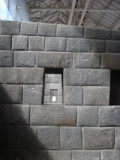 Inca stonework in Coricancha, Cuzco.