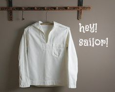 Vintage WW2 US Navy Uniform Summer White by RosaMeyerCollection