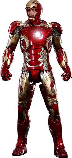Iron Man Mark XLIII / Avengers Age of Ultron - Sixth Scale Figure / Hot Toys