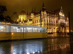 Straßenbahn, Budapest, Ungarn