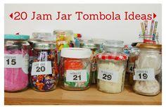 vicky myers creations » Blog Archive 20 Jam Jar Tombola Ideas - vicky myers creations