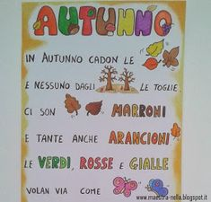 A u t u n n o In autumn the leaves fall and no one from .- A u t u n n o In autumn the leaves fall and nobody from the trees removes the leaves there are brown leaves and many also the orange … - School Classroom, Classroom Decor, Christmas Yard Art, Fall Crafts For Kids, Learning Italian, Fruit Art, Early Childhood Education, Primary School, Autumn Leaves