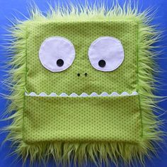Monster Rice Bag Cover - a free pattern from Shiny Happy World