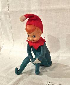 Vintage Knee Hugger Elf  Pixie Made in Japan by VintagePrairieHome