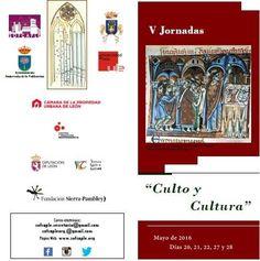 """Participamos en las V Jornadas de la Catedral de León bajo el nombre """"Culto y Cultura"""" los días 20, 21, 27 y 28 mayo  2016.http://sofcaple.org/2016/05/15/V-jornadas-catedral-leon"""
