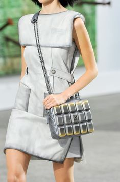 Chanel at Paris Fashion Week Spring 2014 - Livingly Chanel Style, Chanel Fashion, Paris Fashion, New Fashion, Womens Fashion, Blue Train, Chanel Couture, Quirky Fashion, Chanel Spring