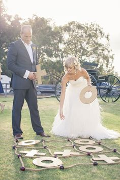 There's a very special place in my heart that I reserve for Australian weddings. It's a place that celebrates all things rustic with a dash of whimsy + elegance thrown in for seriously good measure. Country Themed Parties, Country Birthday Party, Rustic Wedding, Our Wedding, Dream Wedding, Wedding Reception, Wedding Games, Grad Parties, Anniversary Parties