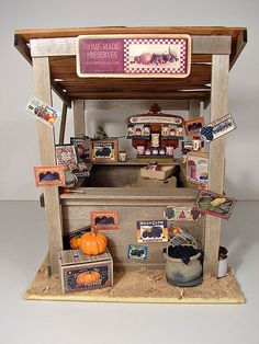 Dollhouse Miniature Mississippi Produce Crate 1:12 Scale Farm Food Market Store