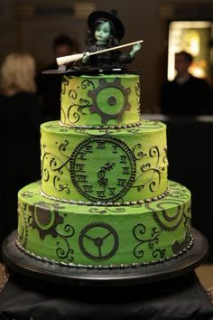 Wicked Cake And It Is Quite Wicked Book Fashion A Combo Of - Wicked Wedding Cakes