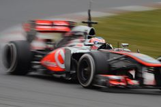 Jenson Button at speed in the McLaren | Formula 1 photos | ESPN F1