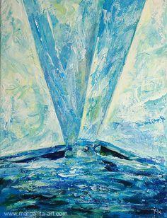 Segelboote+See+Original+Gemälde+Meer+Landschaft+von+Art+&+Design+aus+Hamburg+auf+DaWanda.com #Sailboats #Regatta #Sail #Sailing #Painting #Gemälde #Malerei #Bilder #Margarita #Kriebitzsch #Art #Artwork #Contemporary #maritime