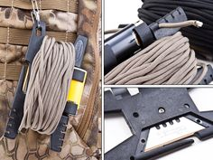 Spool Tool - Great Way to Carry Your Paracord - Preparing for shtf
