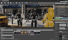 Making of Robo Recall Cinematics with Sequencer