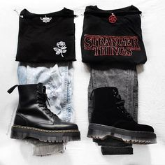 The Effective Pictures We Offer You About grunge goth witch A quality pi Hipster Outfits, Tomboy Outfits, Grunge Outfits, Mode Outfits, Grunge Fashion, 90s Fashion, Trendy Fashion, Casual Outfits, Girl Outfits
