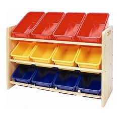 1000 Images About Shelving Unit With Bins On Pinterest