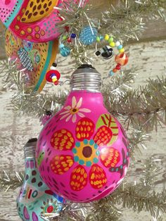 Holiday Decor Repurposed Ornament Whimsical on Etsy, $22.00