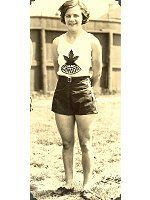 My grandma, 1932 Olympic silver medalist, hell raiser ... or so I heard.