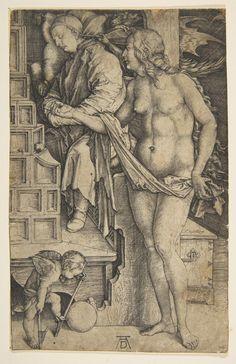 Albrecht Dürer, The Dream of the Doctor n.d.
