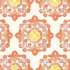 Ty Pennington FABRIC  Delhi  Orange  Home Dec by TheNeedleShop, $18.95