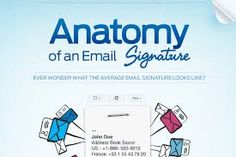 An email signature appears at the bottom of every email automatically and normally includes your name, organization, role, and contact information. Only of professionals use an email signature. include their name while