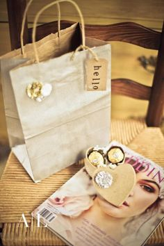 I love the idea of creating a welcome package for new brides.