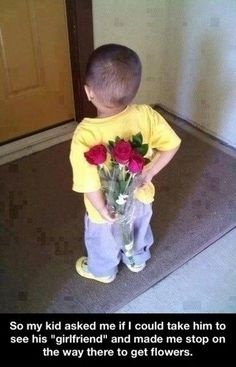 Ok . . . this little boy will be a heartbreaker . . .