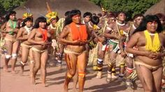 dancing girl nude  Yawalapiti