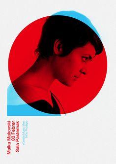 Duotone Poster Design.