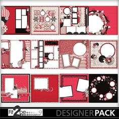 Enjoy these high quality designs by #Fit2beScrapped @MyMemoreis.com #DIgital #Creative #scrapbook #Craft #Peppermint_Christmas_QPs