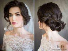 Image result for vintage curls wedding hair