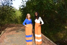 Support Your Favorite Team This Fall with this 3/4 sleeve maxi dresses. Available at Personality Boutique. $46.50 with FREE SHIPPING
