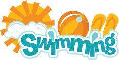Swimming SVG scrapbook title swimming svg scrapbook title swimming svg cut file free svgs