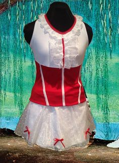 Mary Inspired complete Running Outfit by iGlowRunning on Etsy, $130.00