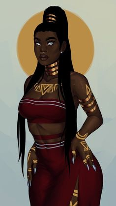 Black Love Art, Black Girl Art, Black Girl Magic, Art Girl, Black Girls, Black Women, Arte Black, Afrique Art, Black Girl Cartoon