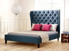 Scarlett Upholstered Bed | Living It Up