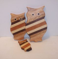 Cutting Boards Set of 3 OWL'S by tomroche on Etsy, $30.00