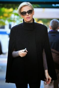 Princess Charlene was photographed in New York while she was walking in the streets.
