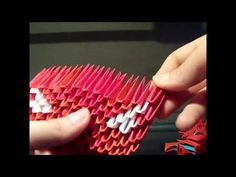 how to make a 3d origami car - YouTube